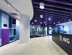 杀毒软件厂商AVG特拉维夫总部办公空间设计