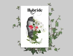 Hybride漂亮的雜誌設計
