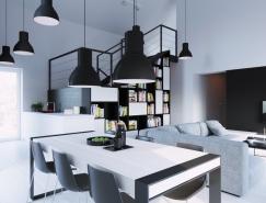 融合经典和超现代风格的家居餐厅装修设计