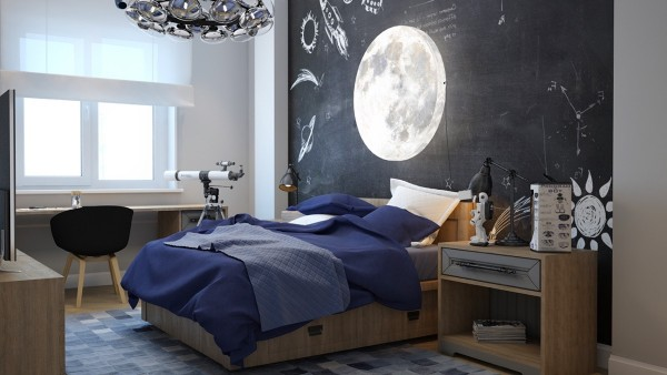 儿童房墙面装饰设计案例欣赏图片