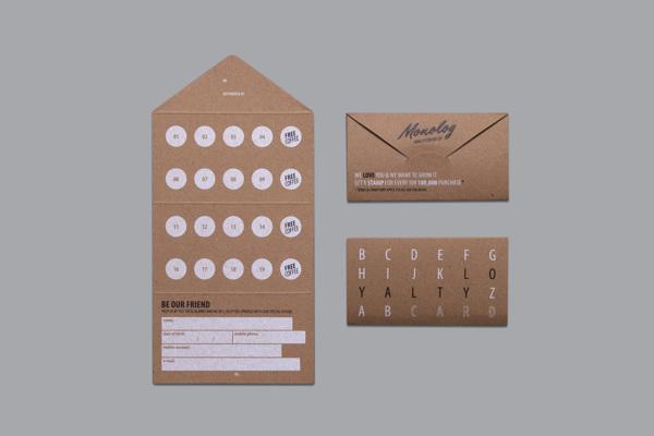 Monolog咖啡馆品牌视觉形象设计