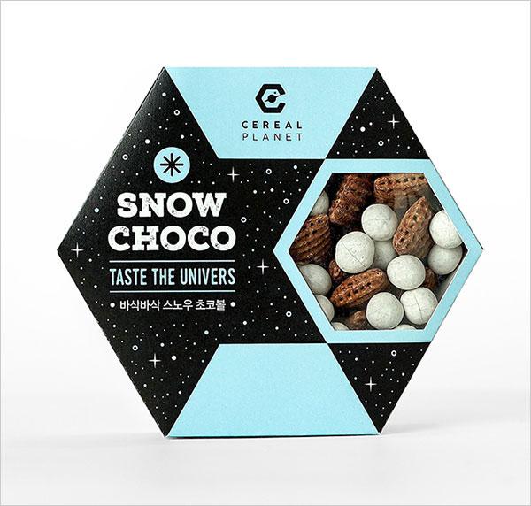 精选10个国外食品创意透明包装设计图片
