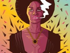 哥伦比亚艺术家Iconblast超酷插画作品
