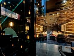 Sushi B日式餐厅空间设计