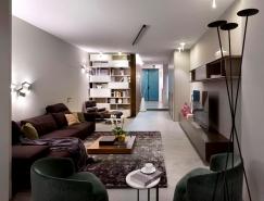 烏克蘭活力時尚的現代公寓設計