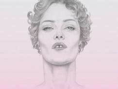Denise Nestor名人肖像插画欣赏