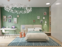 儿童房墙面装饰设计案例欣赏