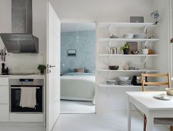 瑞典哥德堡56平米简约小公寓