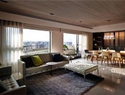 台北时尚优雅的现代家居装修设计