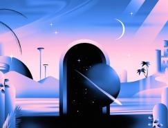 Victor Moatti感性和神秘氣息的插畫作品欣賞