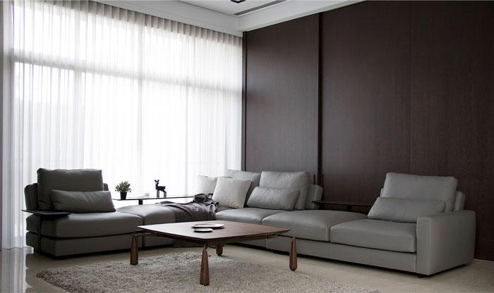 台中现代极简风格住宅设计