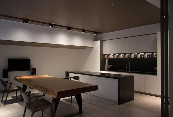 台中現代極簡風格住宅設計(2) - 设计之家