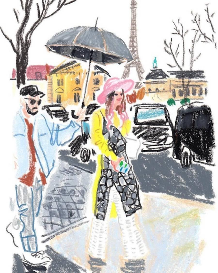 Damien Cuypers蜡笔插画欣赏