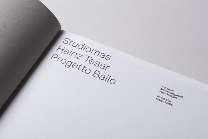 Progetto Bailo極簡畫冊設計欣賞