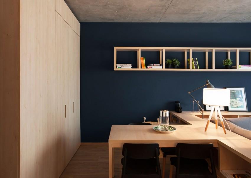 布加勒斯特50平米舒适小公寓装修设计