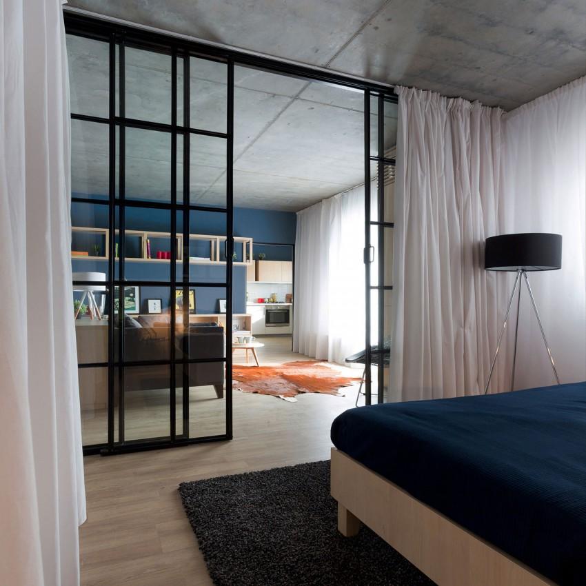 50平米舒适小公寓装修设计