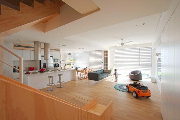 天然极简的台湾复式住宅设计