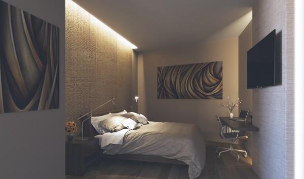 25个创意卧室灯光效果设计
