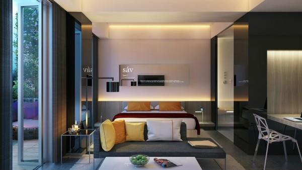 25个创意卧室灯光效果设计(2)
