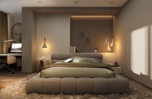 25个创意卧室灯光效果设计(2)图片