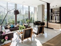 墨西哥城明亮通透的開放式公寓設計