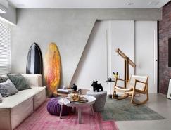 裏約現代時尚的單身公寓設計