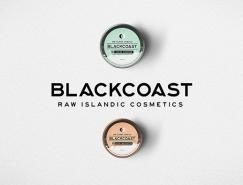 护肤品牌BLACKCOAST包装和品牌w88手机官网平台首页欣赏