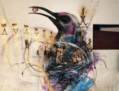 L7m鳥的街頭塗鴉藝術