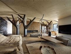 独特的氛围和空间体验的现代住宅设计