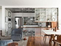 圣保罗简约而精致的360度公寓装修设计