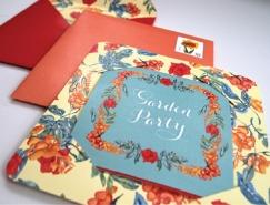 50款漂亮的花卉藝術字體設計