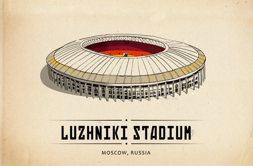 世界著名球场插画版