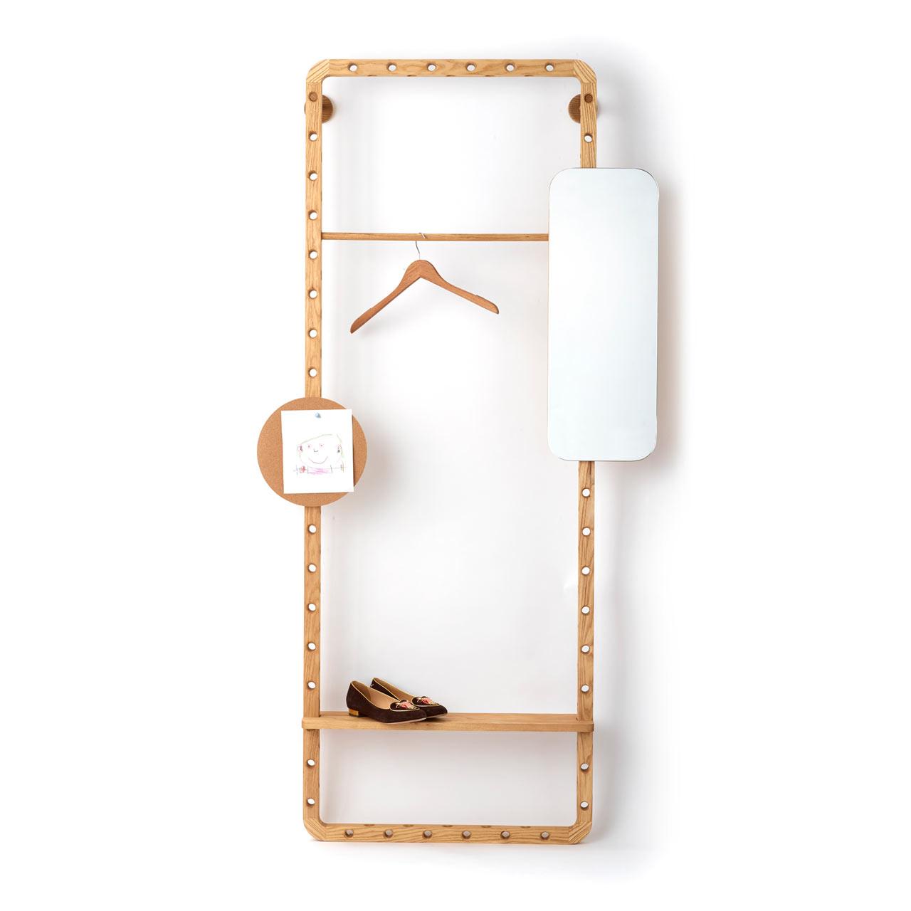 模块化加自助组装:设计师 Leonid Davydov的开放储物架设计
