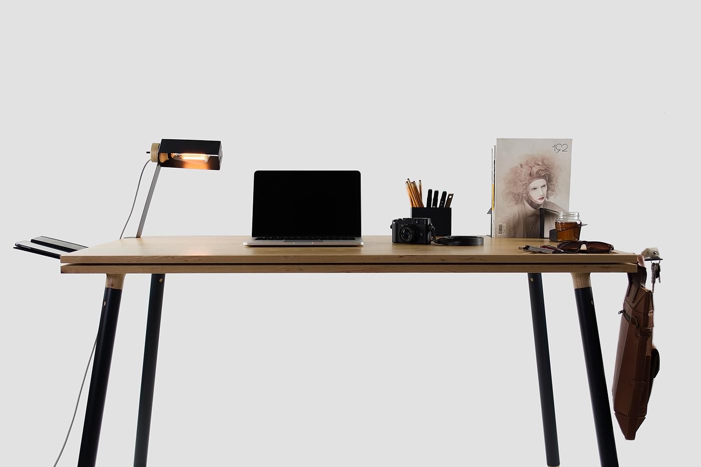 多功能简易办公桌设计欣赏