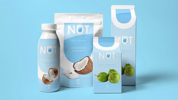 COCONUT纯椰汁饮料包装设计日本建筑设计公司2017排名图片