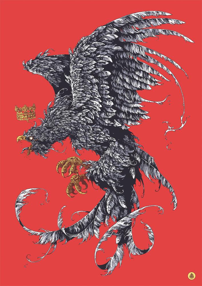 ivan belikov虚幻的野兽和神话动物插画欣赏