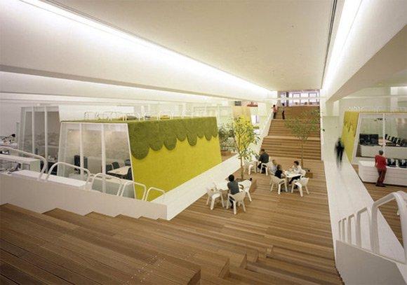 30个国外创意办公室木质工作台设计