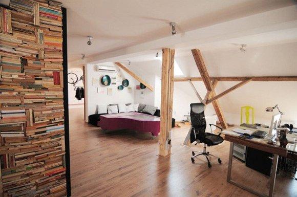 30个国外创意办公室木质工作台设计(2)