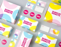 Dunkin Donuts甜甜圈包装设计