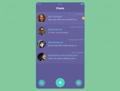30個國外手機UI界麵設計欣賞