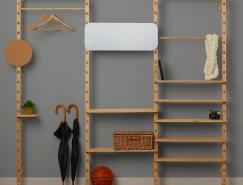 模块化加自助组装:设计师 Leonid Davydov的开放储物