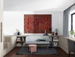 2套55平米精裝小公寓設計