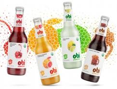 Obi Pr(obi)otic果汁包裝設計