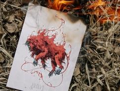 Ivan Belikov虛幻的野獸和神話動物插畫欣賞