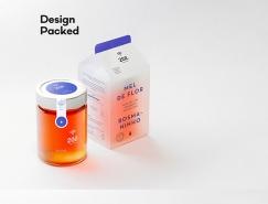 Zee蜂蜜包裝設計