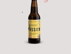 Sour Passion Party酸味啤酒包装设计