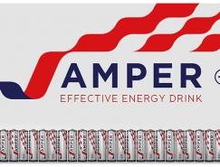 J-Amper能量飲料概念包裝設計