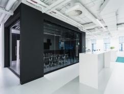 RD Construction现代感的办公室空间设计