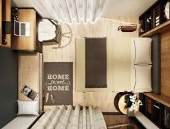 5个漂亮精致的卧室设计