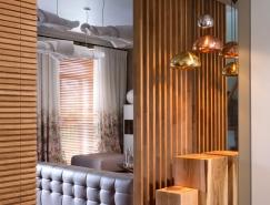迷人的照明设计:柔和温馨的双层公寓装修设计